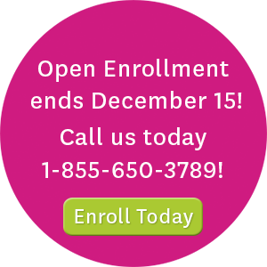 Open enrollment ends December 15! Call us today at 1-855-650-3789 or visit enroll.ambetterhealth.com to enroll today!